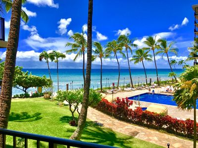 Photo for K B M Hawaii: Ocean Views, Steps to Ocean 2 Bedroom, FREE car! Oct, Nov, Dec, Jan Specials From only $199!