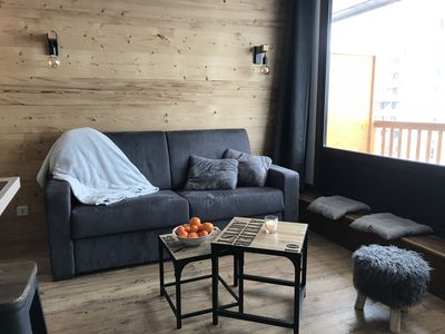Photo for val THORENS - apartment renovated, heart of station, facing the track