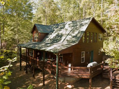 Photo for Fireside Mtn. Ret. Great Cabin with Mountain Views and Internet Access