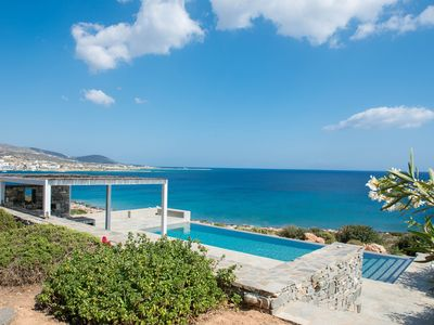 Photo for Sea Front Luxury 3-bedroom Villa with Private Pool