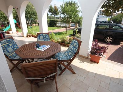 Photo for Two bedroom apartment with terrace Umag (A-6932-b)