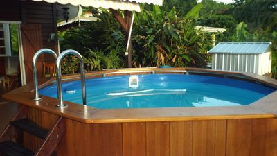 Photo for Beautiful Guadeloupe Villa with Pool and Ocean View