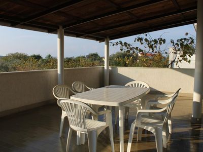 Photo for Two bedroom apartment with terrace Banjole, Pula (A-7487-a)