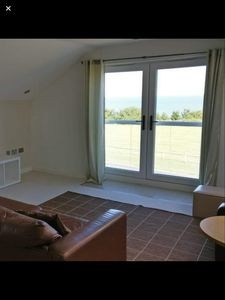 Photo for Modern flat with stunning sea views.