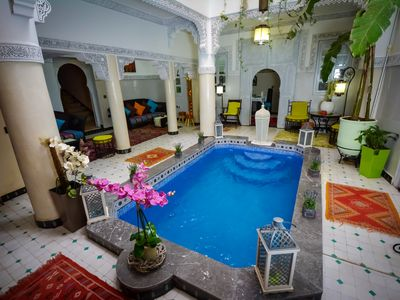 Photo for Homerez last minute deal - Amazing property with swimming-pool