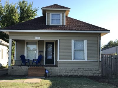 Stay in this authentic 1915 Sears and Roebuck Kit Home.