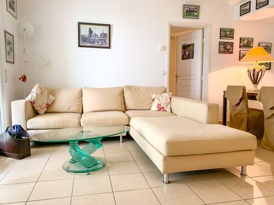 Photo for Antibes Center near comfortable beaches 3 rooms