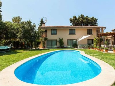 Photo for CAN LLAMAS- Finca in Pollença- Mallorca. 3 bedrooms. Private pool. Air conditioner. Children welcome - Free Wifi