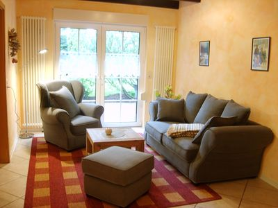 Photo for Disabled apartment in idyllic location by Holtriemer Country