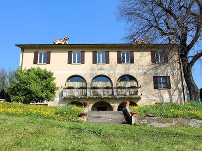 Photo for Attractive and distinctive country villa in the Euganei hills