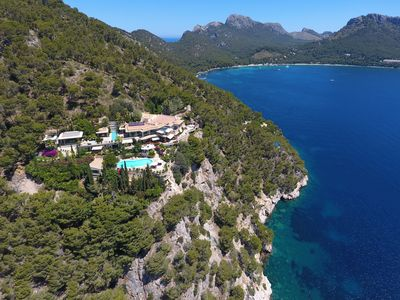 Photo for Majestic Villa in Formentor overlooking the Bay of Pollensa