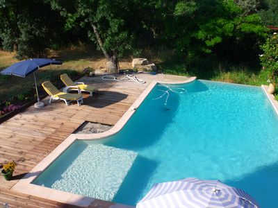 Photo for Apartment field of Marseille in the countryside with swimming pool