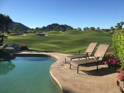 Photo for Prime Rancho La Quinta Private Pool Mtn/Golf Course View Home
