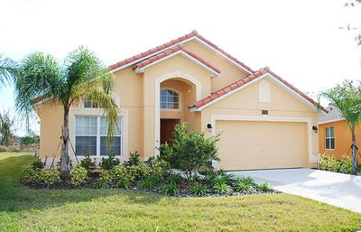 Our beautiful vacation home in a gated community.  Just 5 miles from Disney.