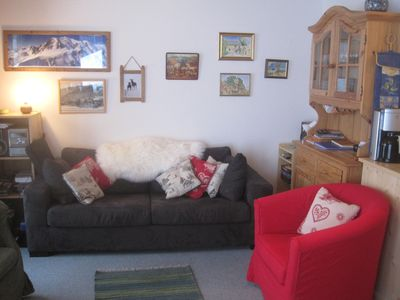 Photo for Sunny Apartment For 6 in Petit Chatel with WiFi