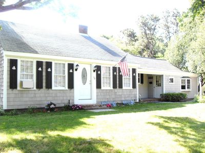 Photo for VILLAGE HOME HAS PRIVATE FENCED HALF ACRE YARD -WALK TO: MAIN ST -SHOPS -HARBOR