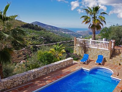 Photo for Holiday Villa with phantastic sea views and 4 bedrooms