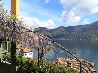 """Photo for Apartment with lake view, in a quiet and green location on the """"Greenway del Lago"""""""