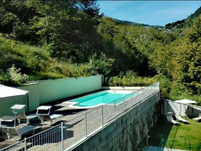 Photo for A1 / Lake Como Residence Felice 72 with pool, apartament with private garden, view