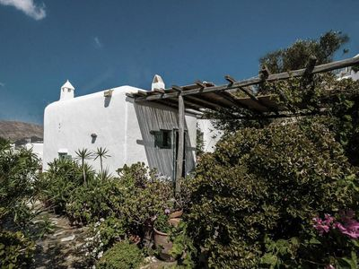 Photo for An Authentic Fully Renovated Traditional  Cycladic Stone House Near the Beach