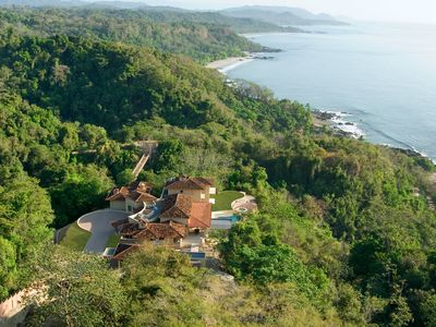 Photo for Luxury Clifftop Compound In Montezuma With Private 100 Mt Suspension Bridge.