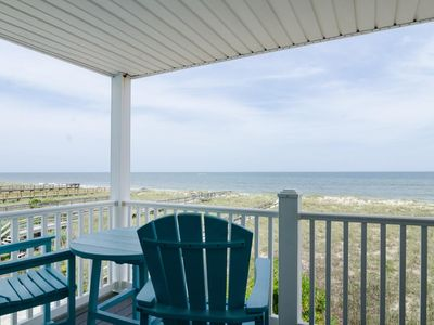 Photo for Recently updated oceanfront condo only a short stroll to the boardwalk