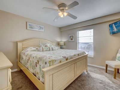 Photo for Gulf front corner unit with two bedrooms two full bathrooms with direct Gulf view Sleeps 6