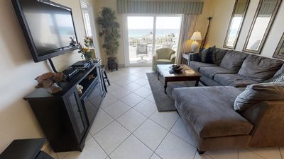 Photo for Unit 407 - East Gulf Front View! FREE BEACH SERVICE!!