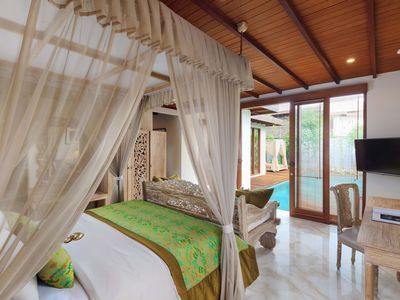 Photo for One Bed Pool Suite Villa Purnama Beach