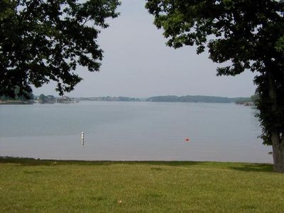 Photo for The Snug-  Waterfront Townhome with Covered Dock, Flat Yard, Sandy  Beach