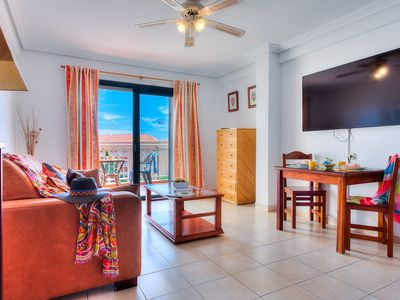 Photo for SOUTH-FACING HOLIDAY APARTMENT WITH 2 TERRACES POOL AND SEA VIEWS NEAR THE BEACH
