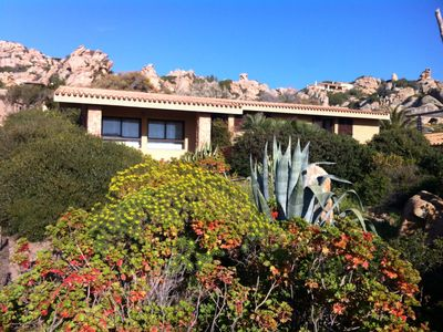 Photo for Villa Sole 3, 9 places and swimming pool with fantastic view between the granite and the sea