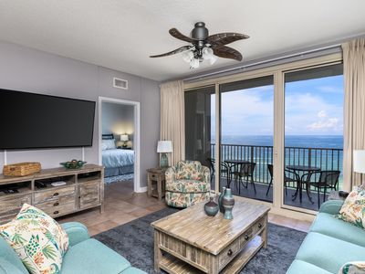 Photo for OCEANFRONT-2 Bdrm + Bunk Area Condo-FREE Rental Beach Chairs w/ Umbrella