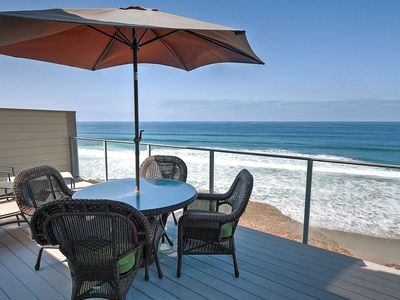 Photo for Gorgeous Panoramic Pacific Views in Oceanfront Condo at Seabluffe Community