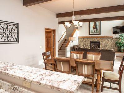 Photo for Gorgeous Split Level Townhome with Private Jacuzzi just minutes from Beaver Creek Resort