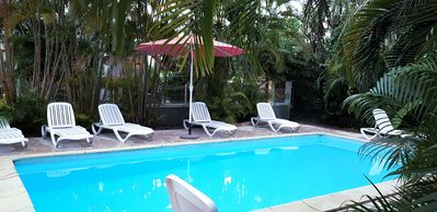Photo for Air-conditioned apartment rental in Sainte Anne GUADELOUPE