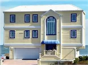 You will love our Caribbean Yellow exterior with Deep Lagoon Blue accents