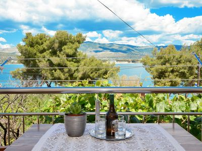 Photo for Apartment Aurelija  A2(4+1)  - Arbanija, Island Ciovo, Croatia