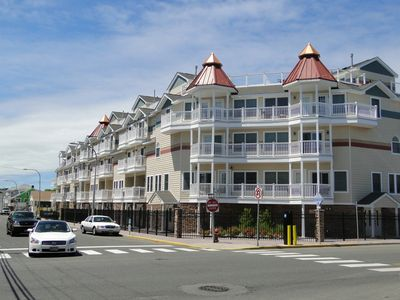 Photo for 5-level, Multi-balcony Ocean-view, Luxury Beach Townhouse, Seaside Heights, NJ