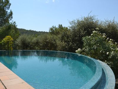 Photo for Classic Catalan Villa with beautiful pool in very peaceful spot near Begur