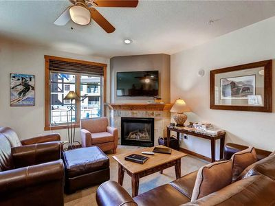 Photo for Walk to the slopes from this great condo! On call shuttle, free parking, pool