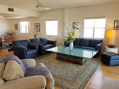 Photo for Light-filled 3 Bd — Steps from the Beach!