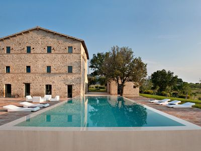 Photo for Casa Olivi: Luxury Villa with modern design in the Marches
