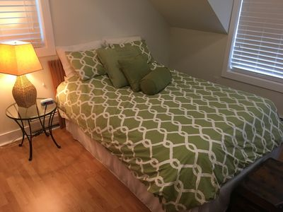 Photo for Romantic Loft style 1BR Apartment in the heart of Finger Lakes Wine country.