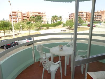 Photo for Apartment with pool, 100 meters to the Beach