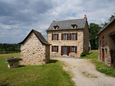 Photo for Cottage classified 3 * - Its stone and its layout will charm you