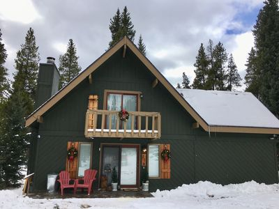 Photo for Charming Cabin in a Private Setting - Great Family Getaway