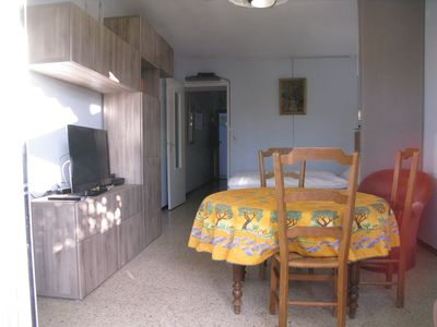 Photo for Comfortable studio 300 meters from the beach