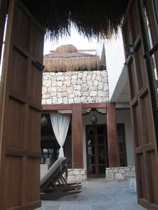 Photo for Magi Azul - Caribe Beach House with Moroccan style, directly beach front