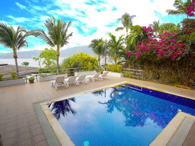 Photo for Private Villa with Pool and Sea View in Patong